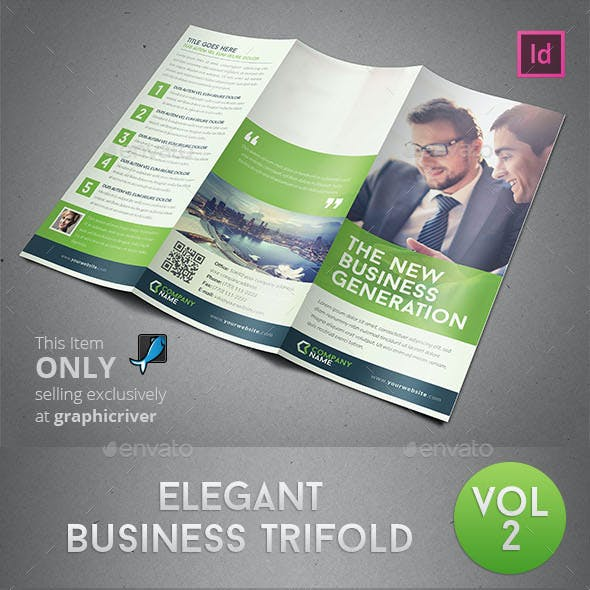 Elegant Business Trifold