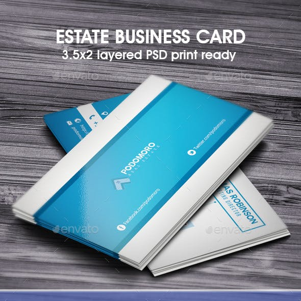 Estate Business Card