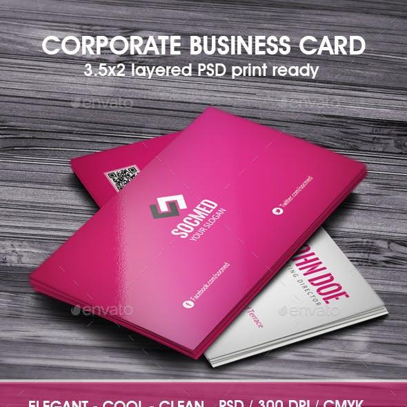 Socmed Business Card