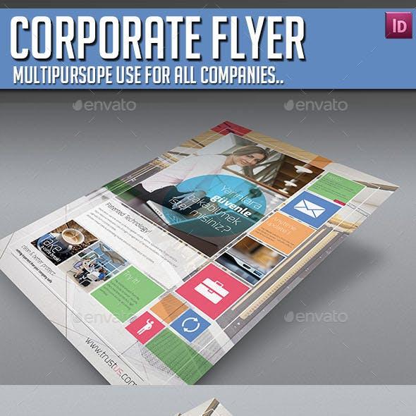 Corporate Flyer - Multipurpose V01