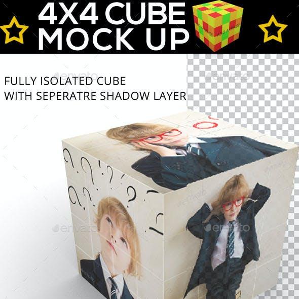 Cube Displayer - Rubik 4x4 Mock Up