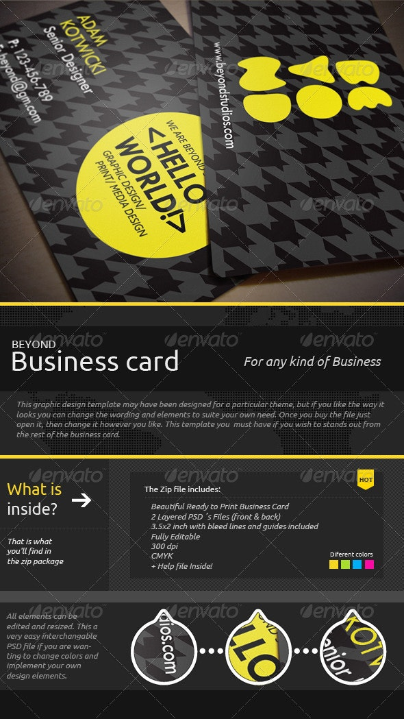 Beyond Business Card  - Creative Business Cards