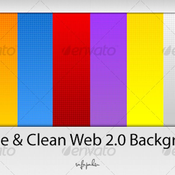 Simple And Clean Web2.0 Backgrounds