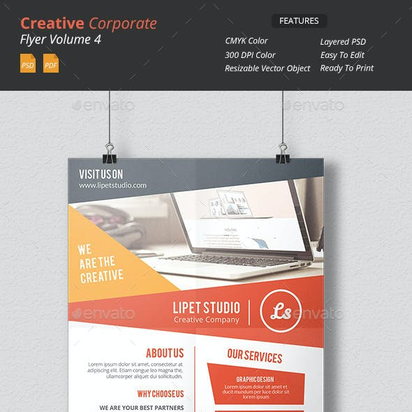 Creative Corporate Flyer v4