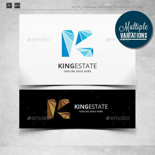 King Estate - Letter K - Logo Template