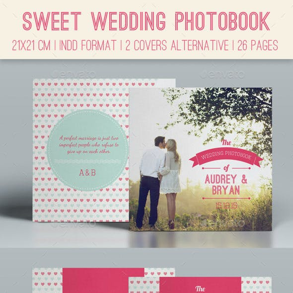 Sweet Wedding Photobook