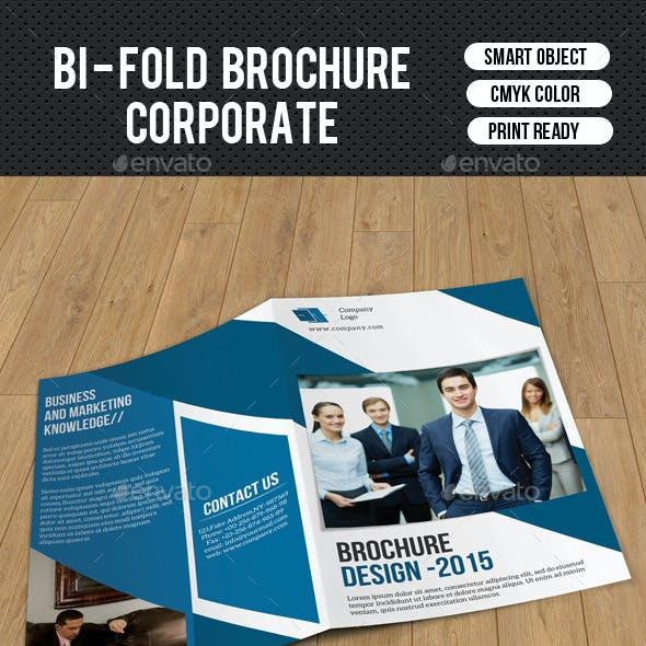 Corporate Bifold Brochure-V180