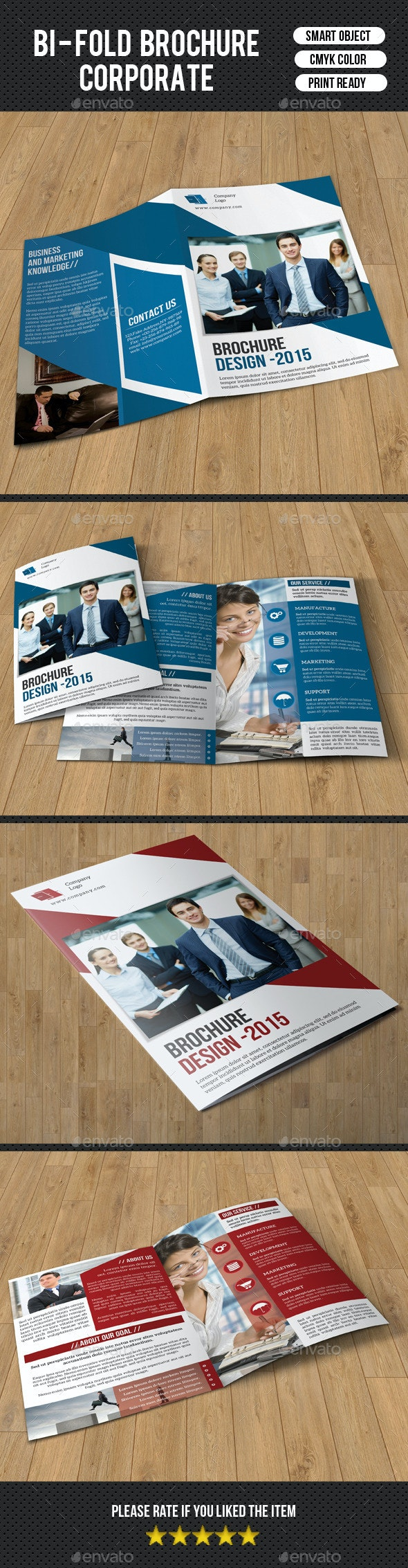 Corporate Bifold Brochure-V180 - Corporate Brochures