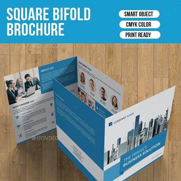Square Bifold Brochure-V07