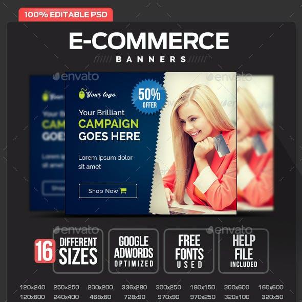 E-Commerce Banner Design Set