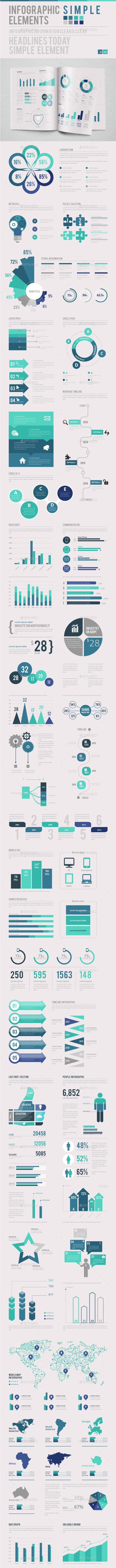 Infographic Simple - Infographics