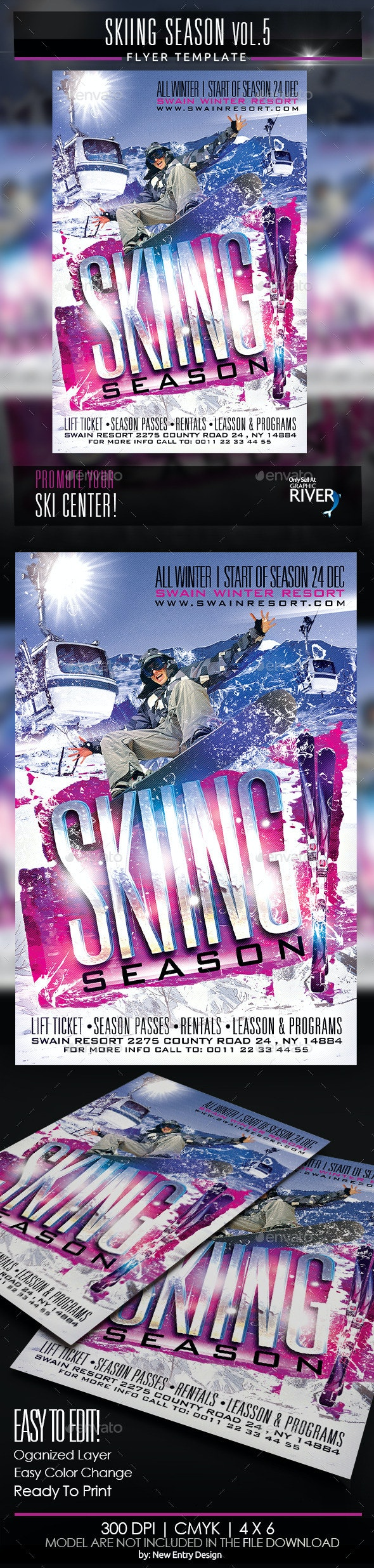 Skiing Season Vol5 - Sports Events