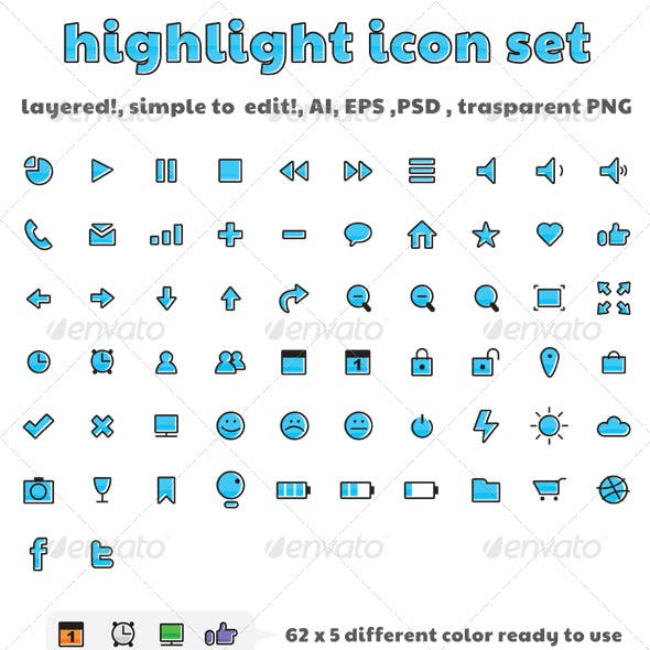 Highlight Icon Set