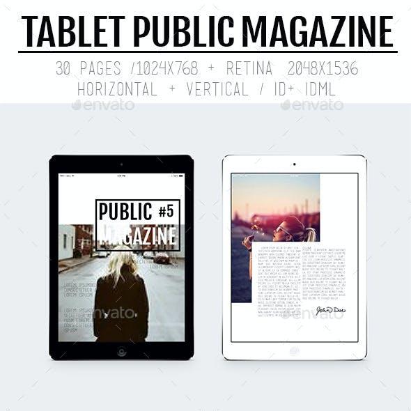 Tablet Public Magazine
