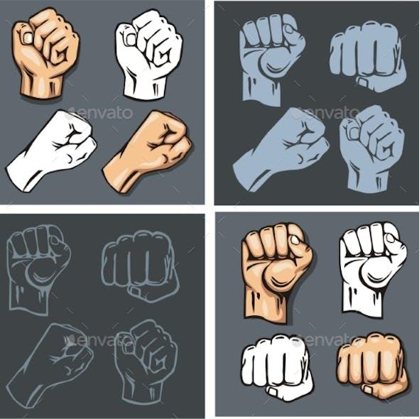Fist Vector Set
