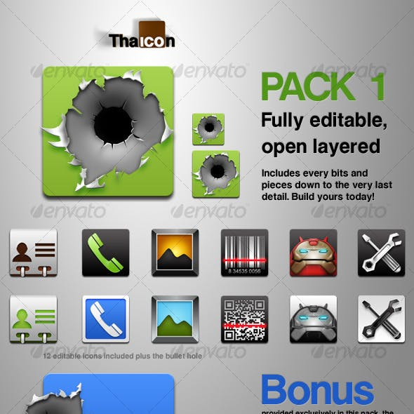 Tha Icon - Pack 1