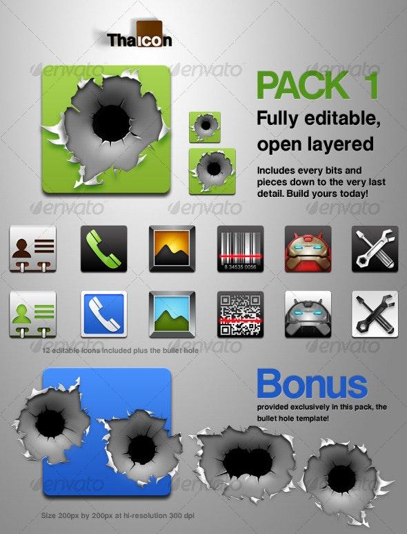 Tha Icon - Pack 1 - Web Icons