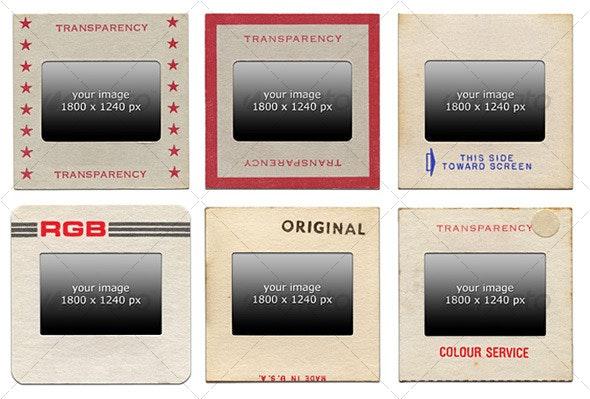 Retro 35mm Slides - Miscellaneous Photo Templates