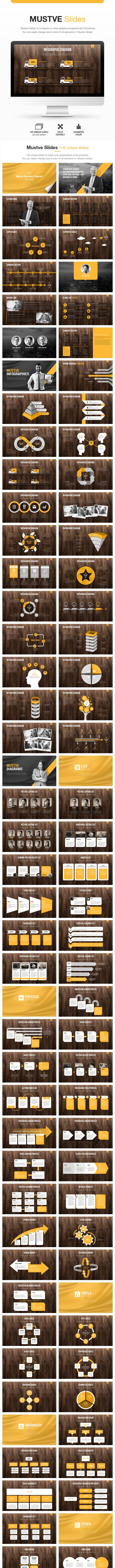 Mustve Slides (Keynote) - Business Keynote Templates