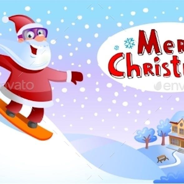 Funky Santa Claus