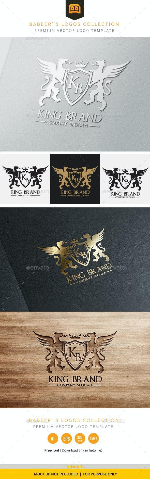 King Brand - Crests Logo Templates