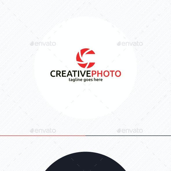 Creative Photo Logo • Letter C