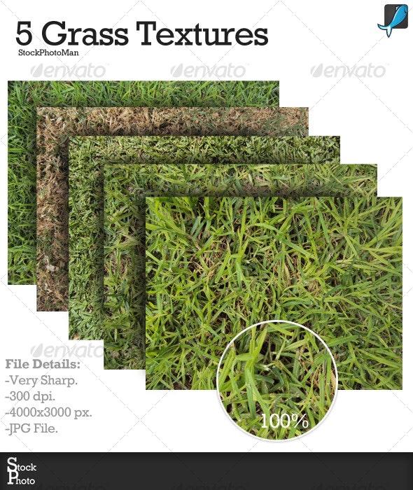 5 Grass Textures - Nature Textures
