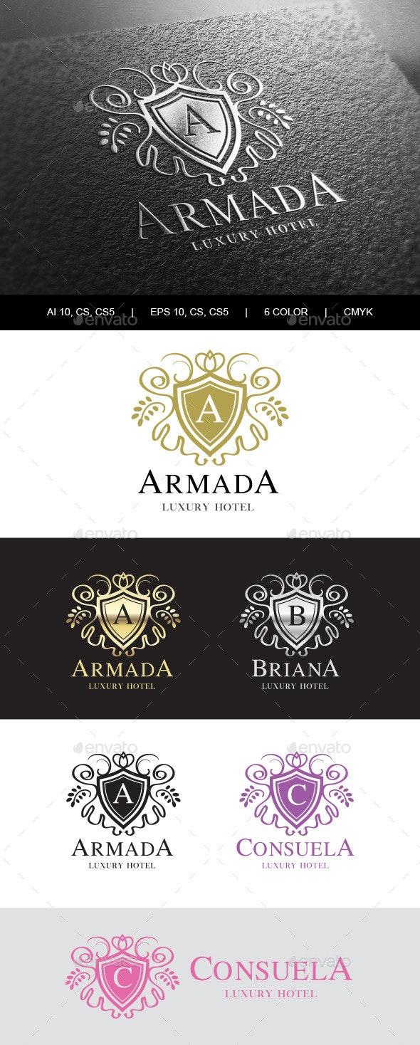 Heraldic Royalty Logo