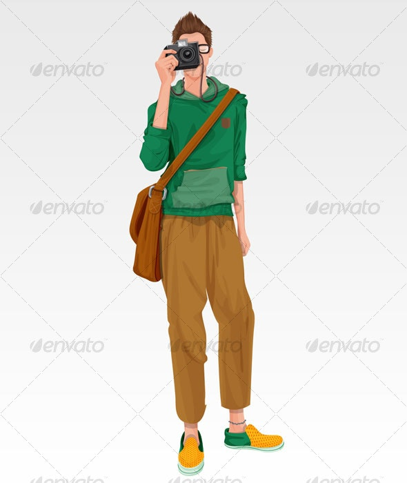 Young photographer - People Characters