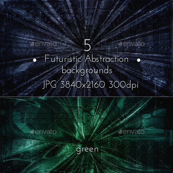 Futuristic Abstraction Collection