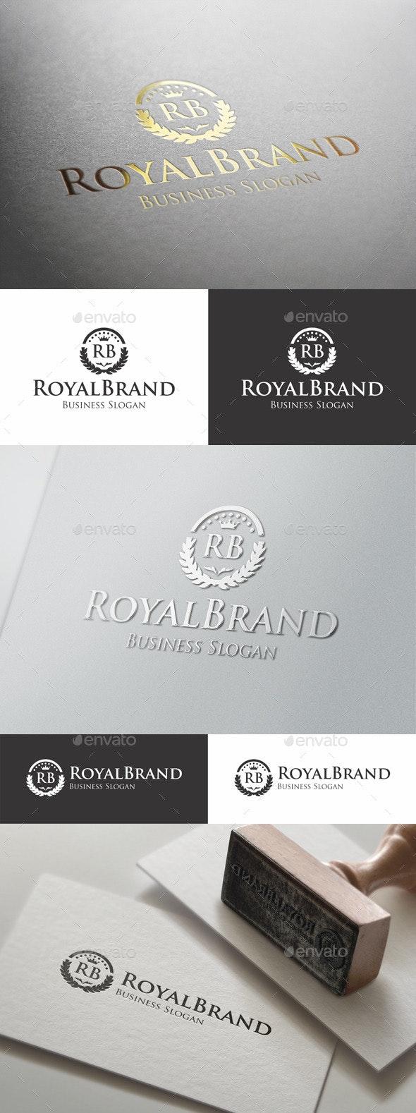 Royal Brand Fashion Boutique Logo - Crests Logo Templates