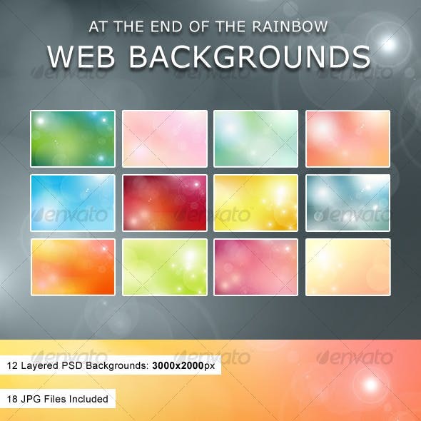 At The End Of The Rainbow Web Backgrounds