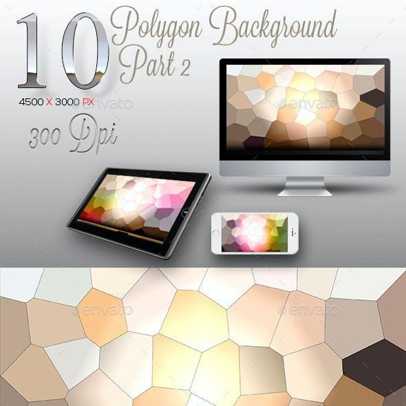 10 Backgrounds Polygon Texture Part 2