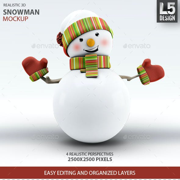 Snowman Mock-Up