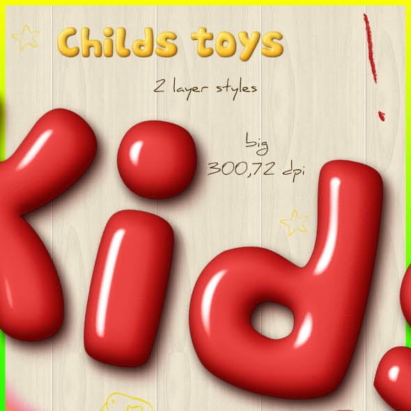 Childs Toys Styles