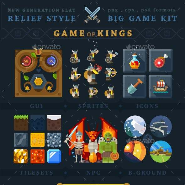 Mmorpg UI Graphics, Designs & Templates from GraphicRiver