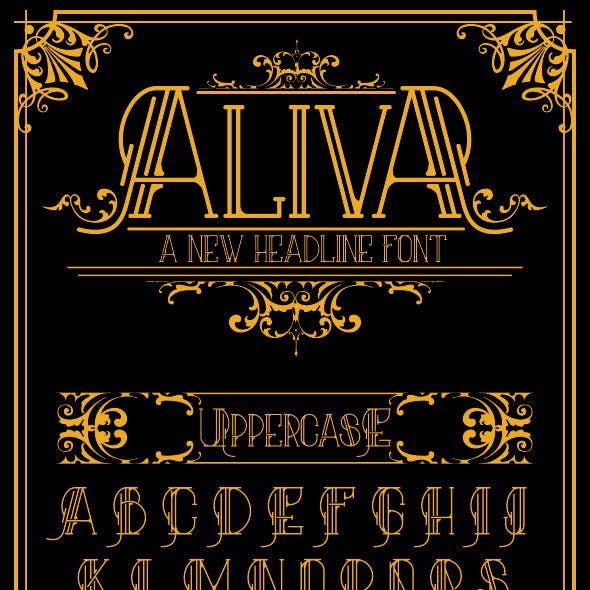 Random Serif Fonts from GraphicRiver
