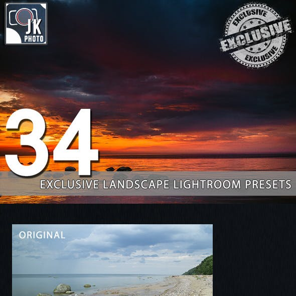 34 Exclusive Landscape Photography Presets