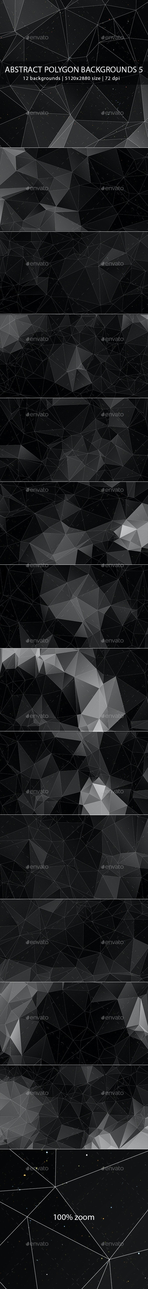 Abstract Polygon Backgrounds 5 - Abstract Backgrounds