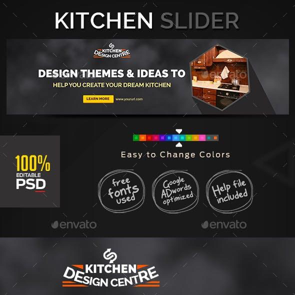 Kitchen & Cabinet Slider/Hero Image