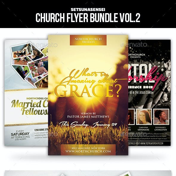 Church Flyer Bundle Vol. 2