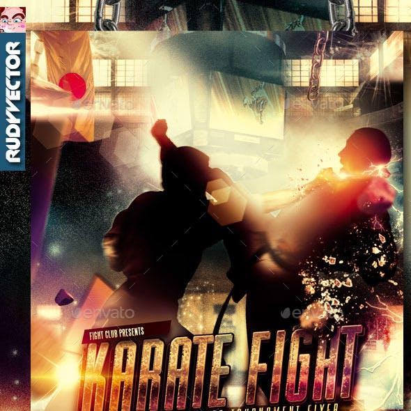 Karate Martial Arts Taekwondo Flyer Template