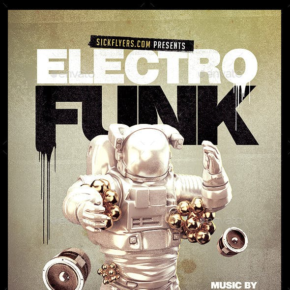 Electro Funk Flyer
