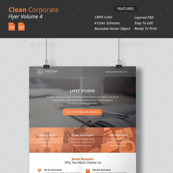 Clean Corporate Flyer v4