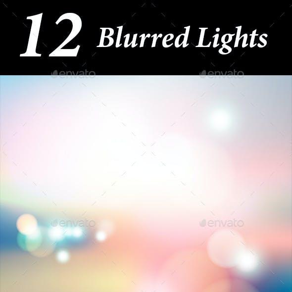 12 Blurred Lights
