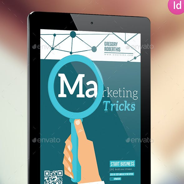 Marketing Trick E-book For Indesign