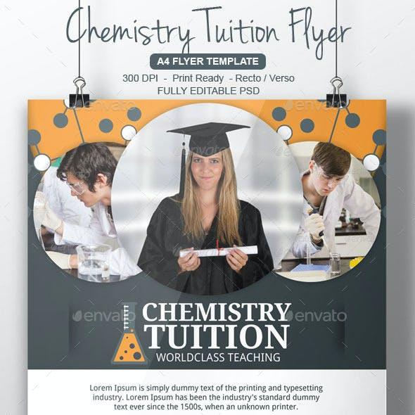 Chemistry Tutor Flyer Template