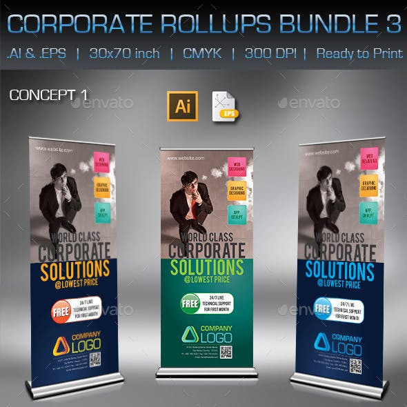 Corporate Business Rollups Bundle 3