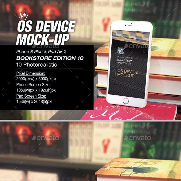 myOS Device Mock-up