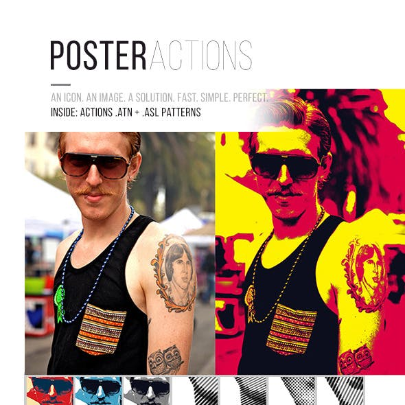 Poster Actions